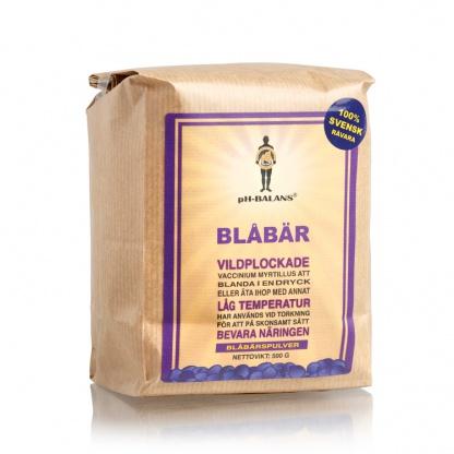 Blåbärspulver svenskt 500 g